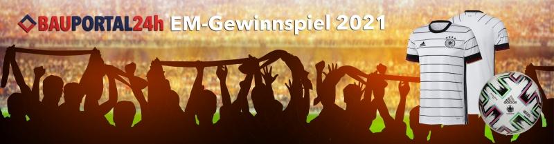 Bauportal24h EM Gewinnspiel 2021