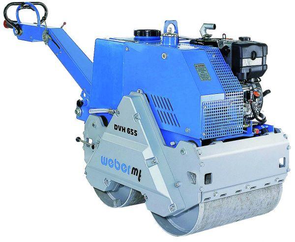 Weber Vibrationswalze DVH 655 E Lombardini-Diesel