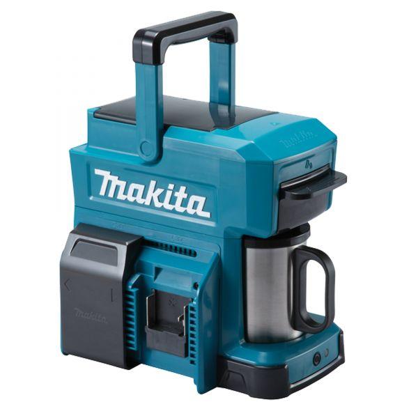 Makita Akku-Kaffeemaschine DCM501Z (ohne Akku) 12V max. /18V für Filterkaffee oder Kaffeepads