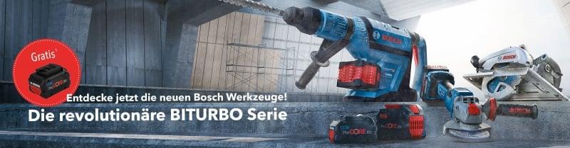 Bosch PRO DEALS BITURBO Aktion
