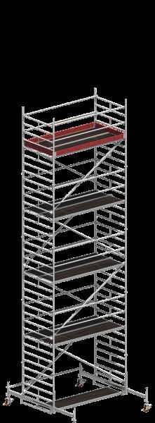 Layher UNI Breit Fahrgerüst 1402, Gerüsthöhe 9,61 m