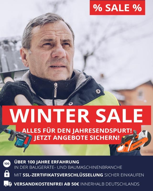 Großer Winter-Sale bei Bauportal24h.de