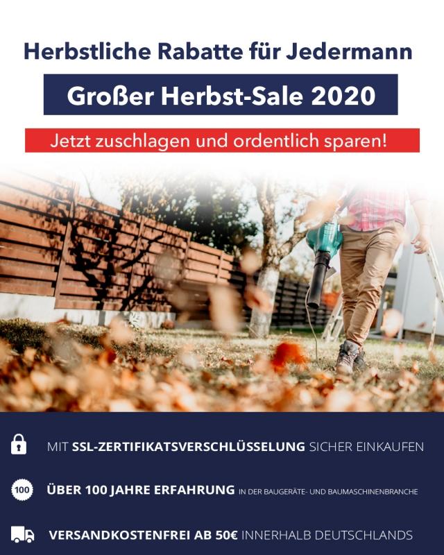 Bauportaler Herbst-Sale 2020