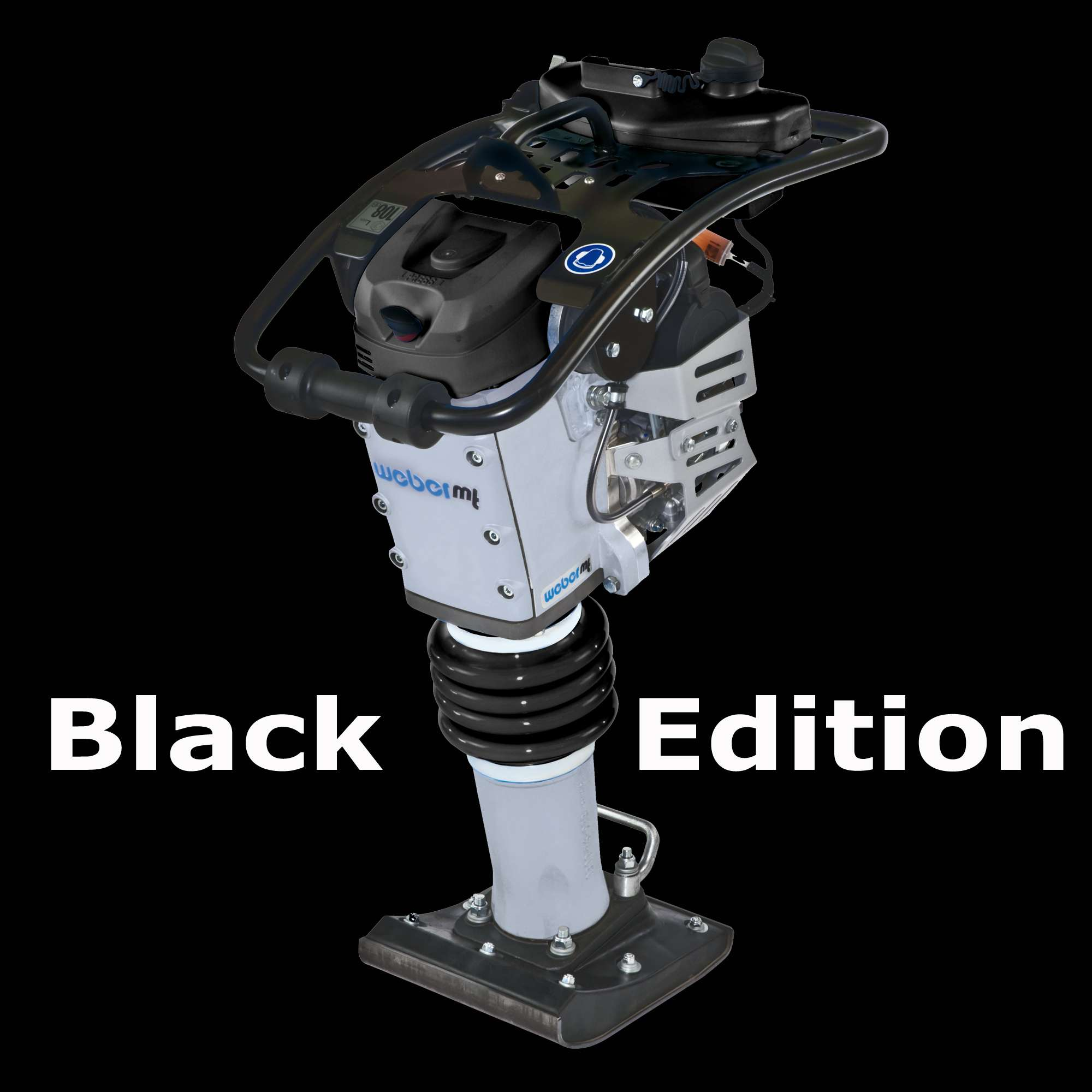 Weber SRV620 SVR Black-Edition Stampfer Rüttelstampfer ...