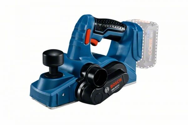 Bosch Akku-Hobel GHO 18 V-LI, Solo Version, L-BOXX
