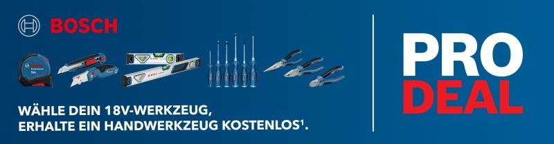 Bosch PRO DEALS Aktion